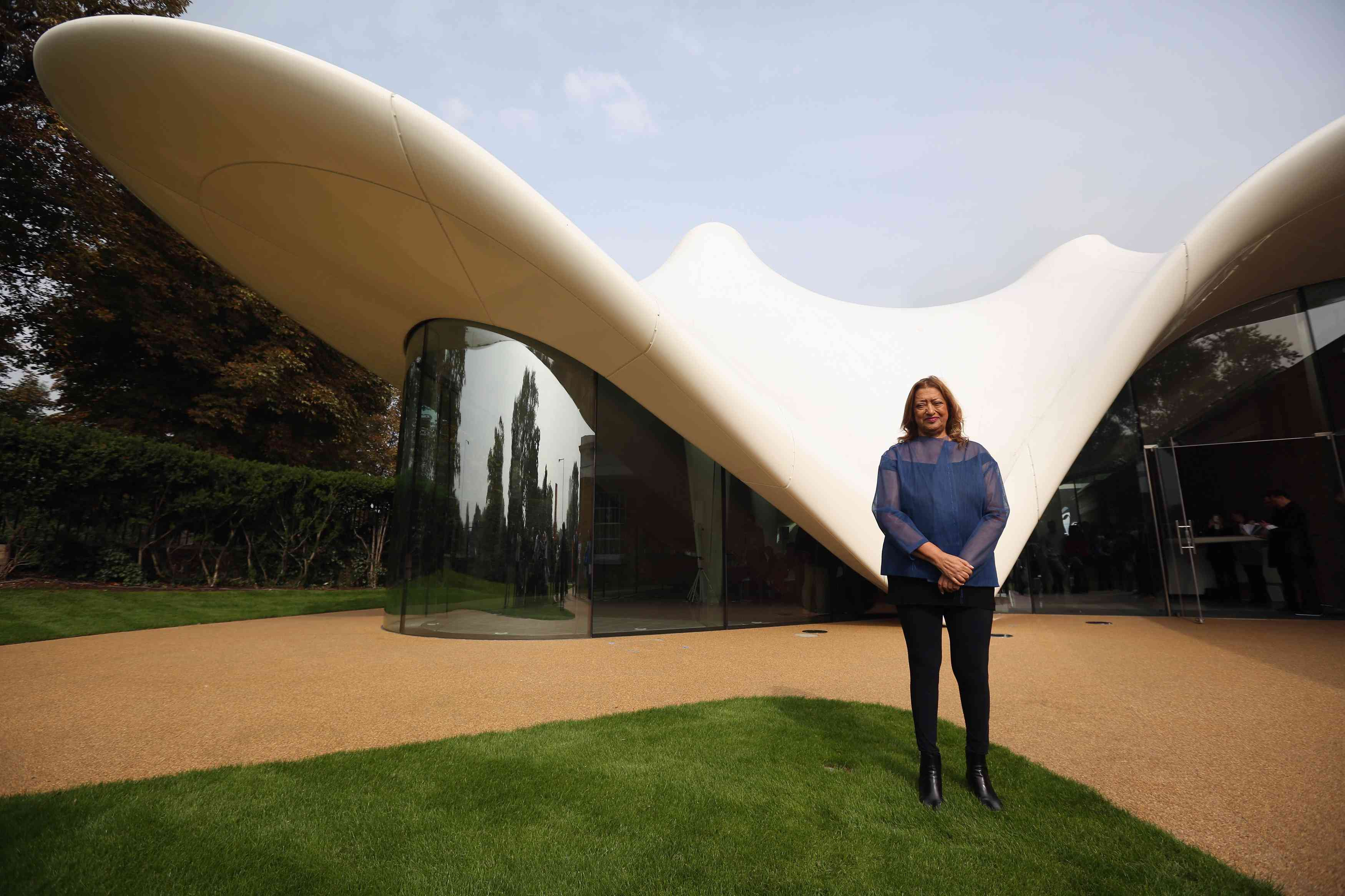 Opening Of The New Serpentine Sackler Gallery Designed By Zaha Hadid