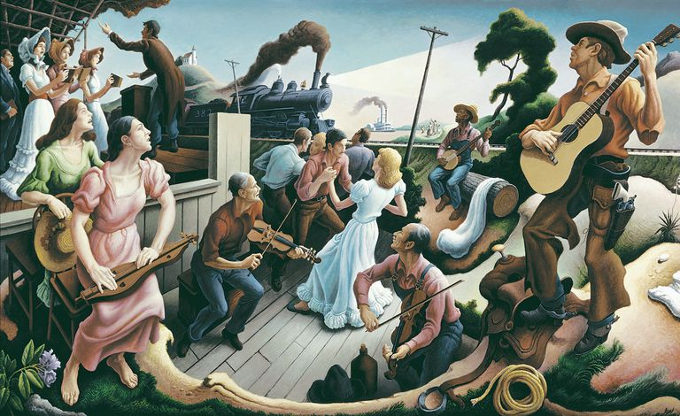 What Is The Definition Of Space In Art Thomas Hart Benton And Rita P Benton Testamentary Trusts