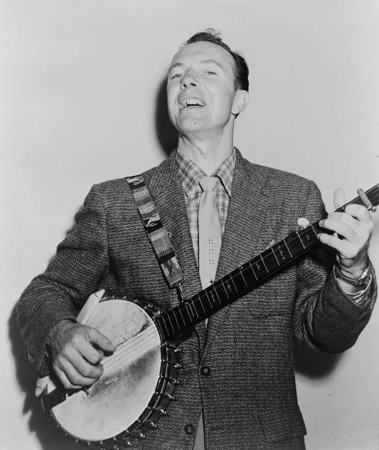 Pete Seeger in 1955
