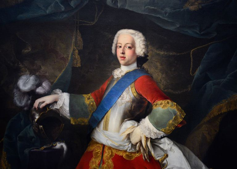 Prince Charles Edward Stuart, the Young Pretender.
