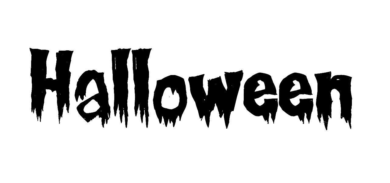 """Halloween"" in the Creepsville font."