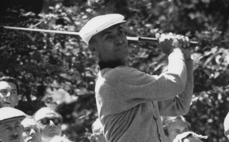 Ben Hogan at the 1956 Canadian Cup