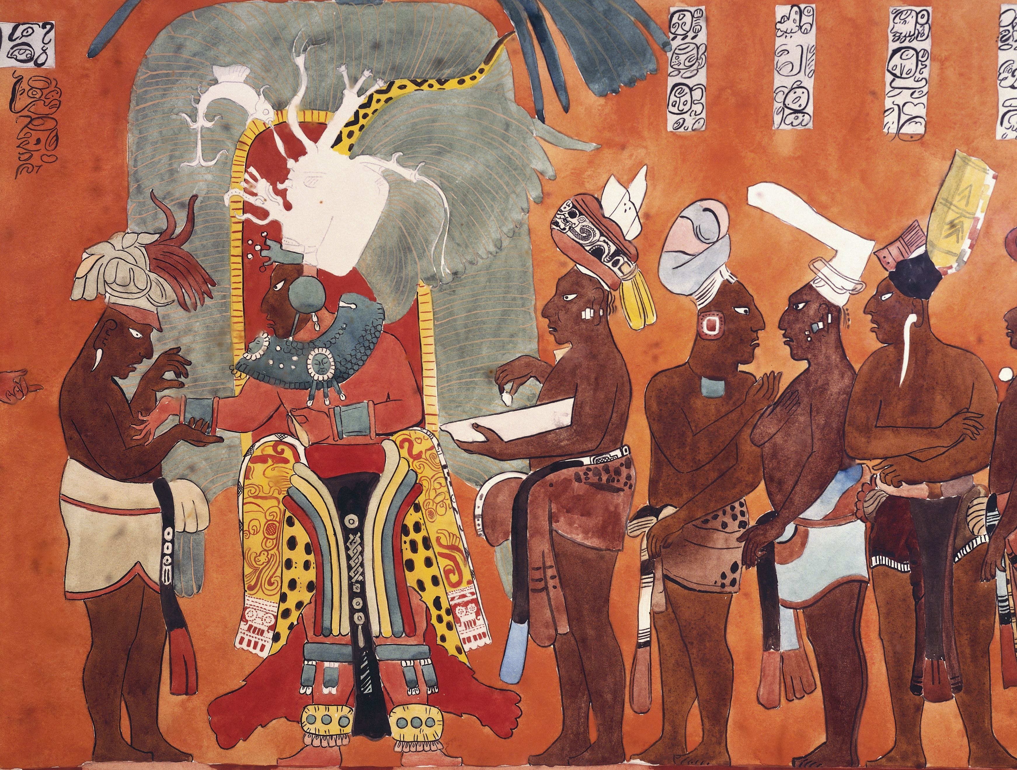 Discovery Of The Mural Paintings Of Bonampak