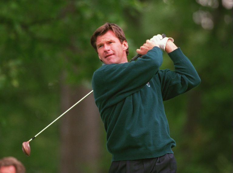 Nick Faldo during the 1995 Ryder Cup