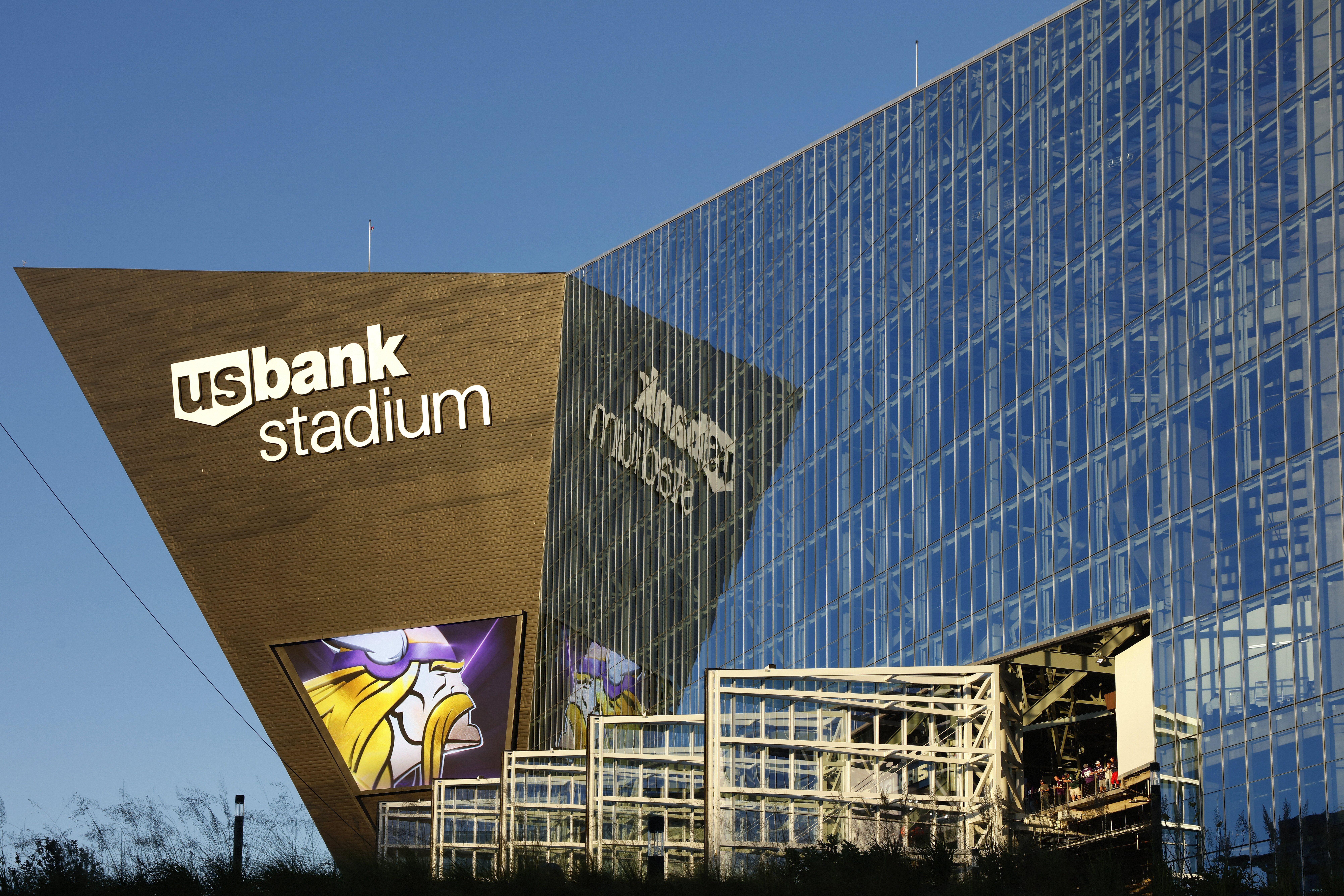 US Bank Stadium (2016) à Minneapolis, accueil des Vikings du Minnesota