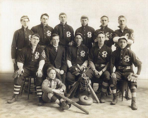 An Early SF Baseball Team