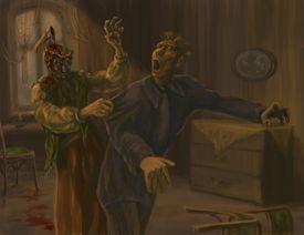 Raskolnikov's nightmare