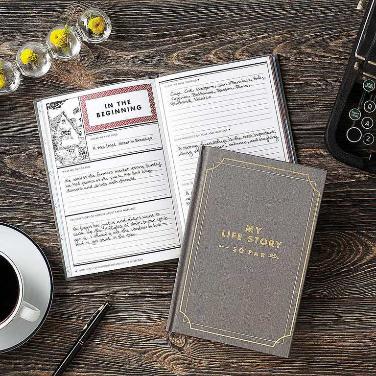 My Life Story So Far, a Journal from Uncommon Goods