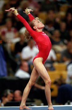 Gymnast Morgan White