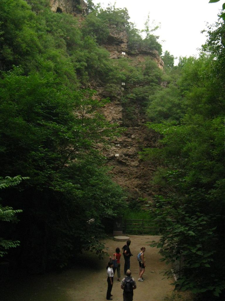 Western Wall at Zhoukoudian