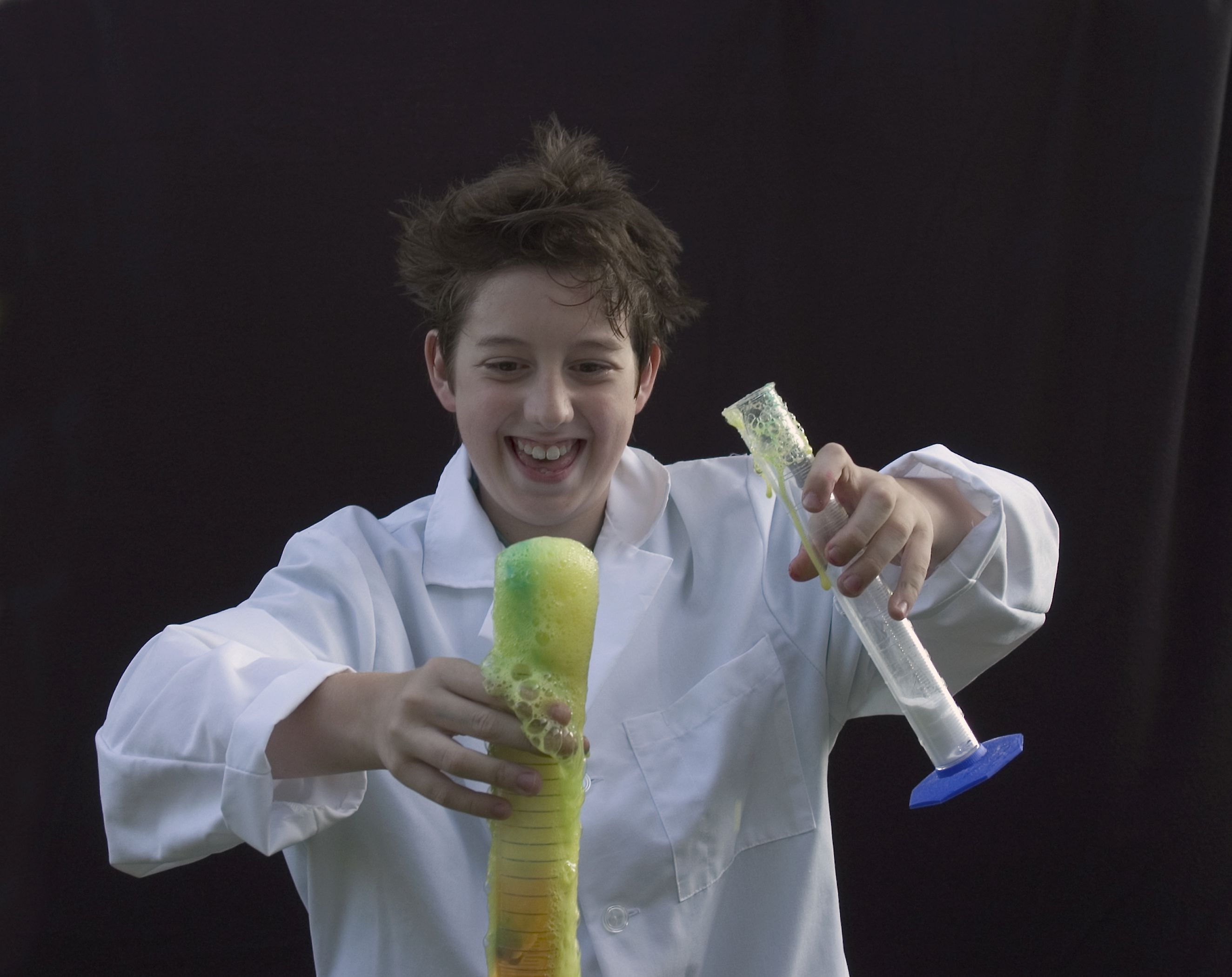 Lemon Fizz Science Project