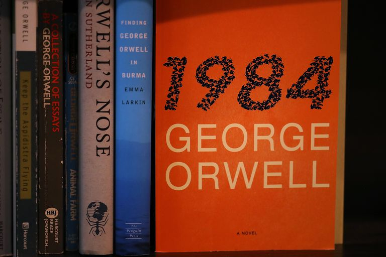 George Orwell's 1984 has examples of intensive pronouns.