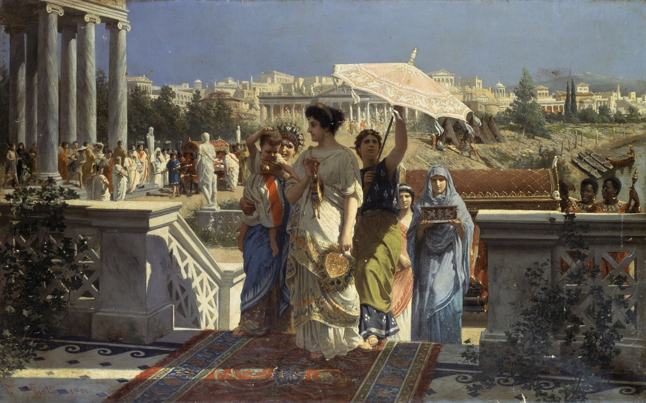 The Roman Relationship Between Patron And Client
