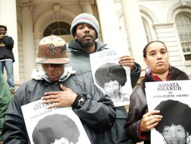 'Assata Shakur is Welcome Here' Public Demonstration Hosted by Talib and Mos Def