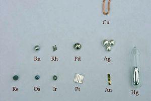 Noble and precious metals
