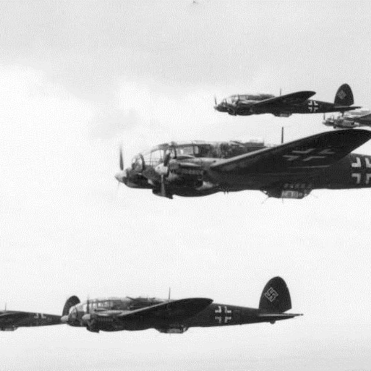 Image result for he111 battle of britain