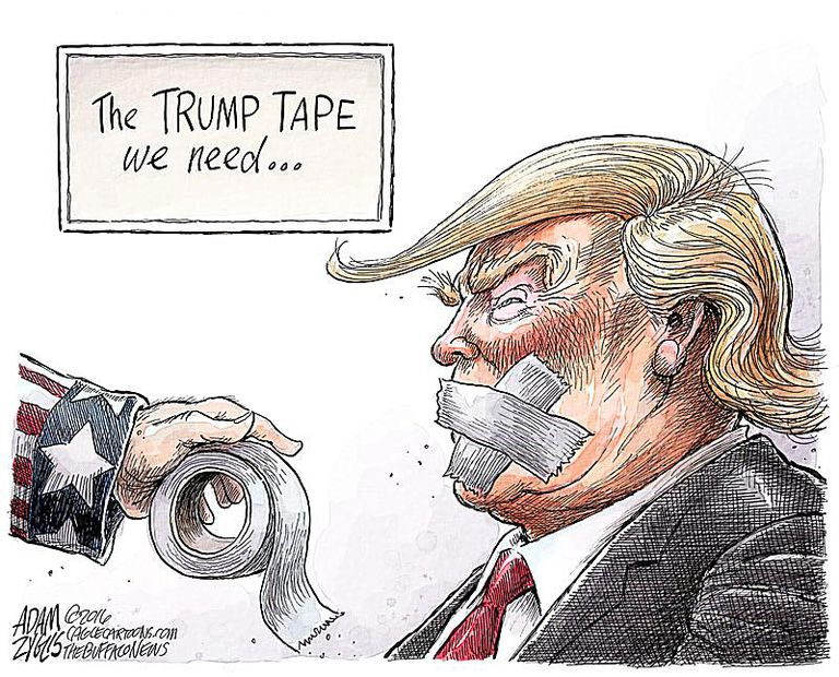 Donald Trump Cartoons: Best Trump Political Cartoons