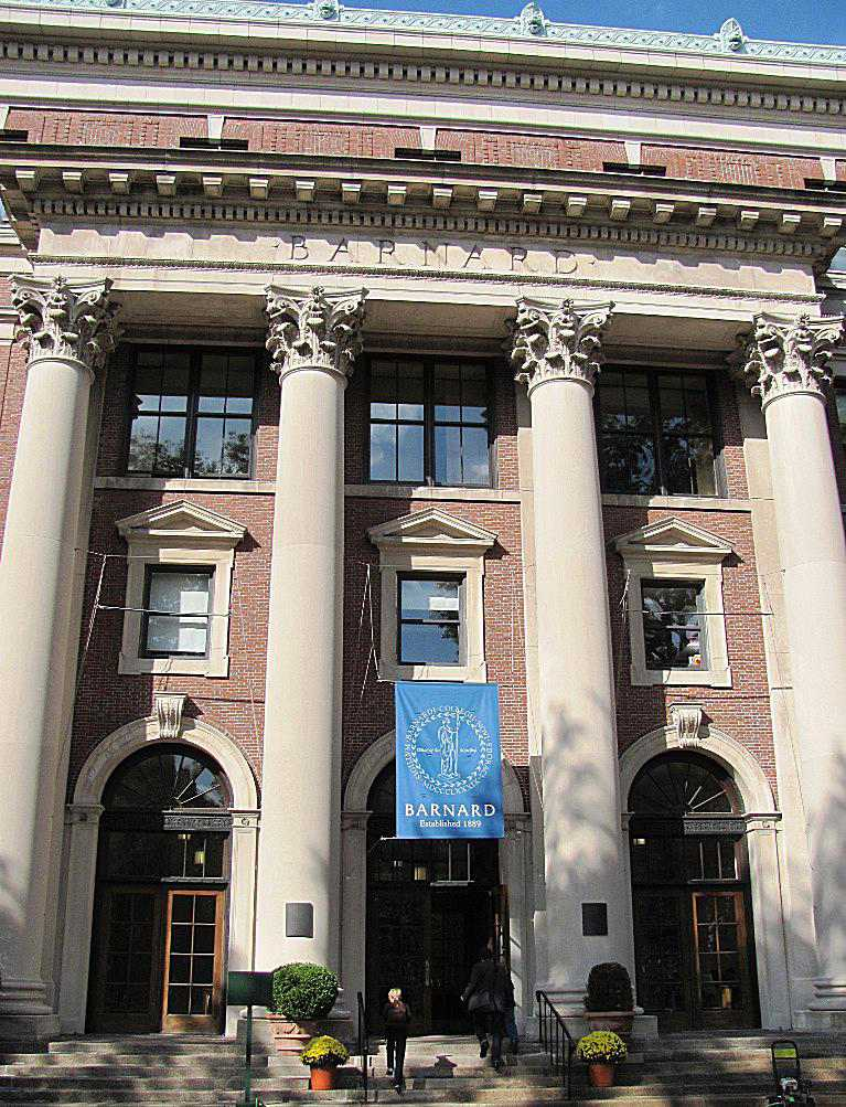 Barnard Hall at Barnard College
