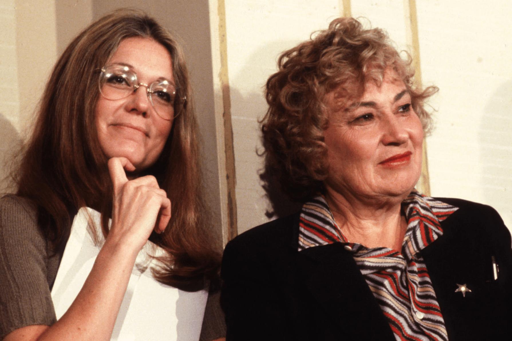Gloria Steinem and Bella Abzug, 1980