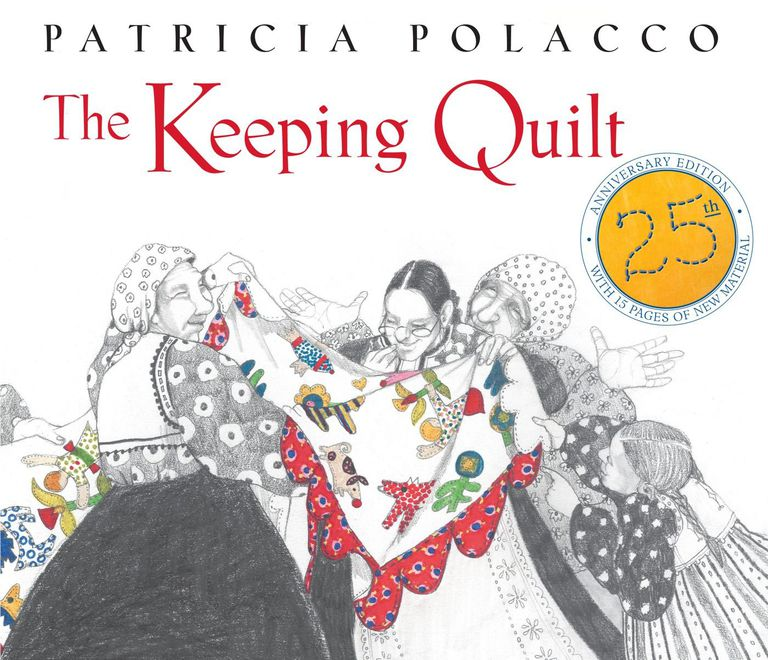 cover of Polacco's book, The Keeping Quilt