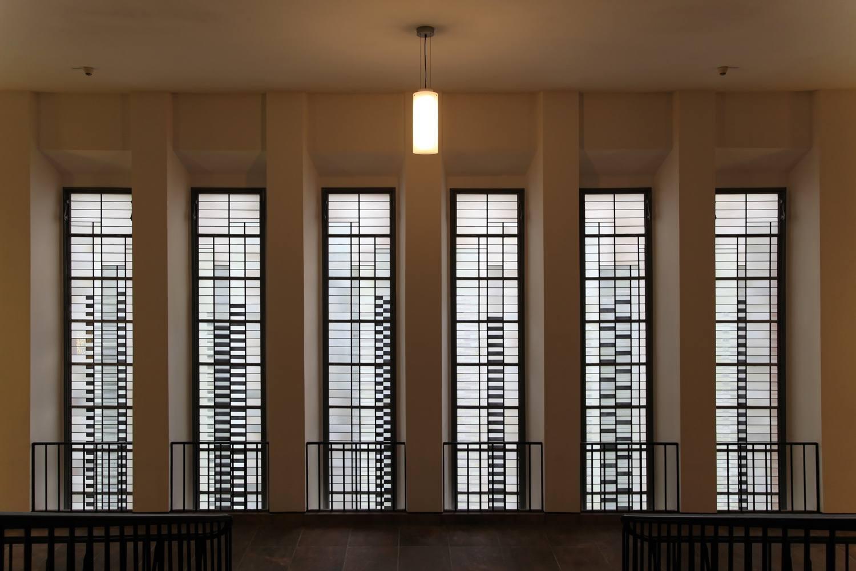 josef albers grassimuseum windows