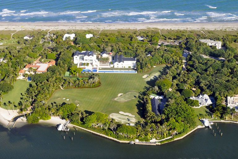 Home And Backyard tiger woods' house in jupiter island, florida