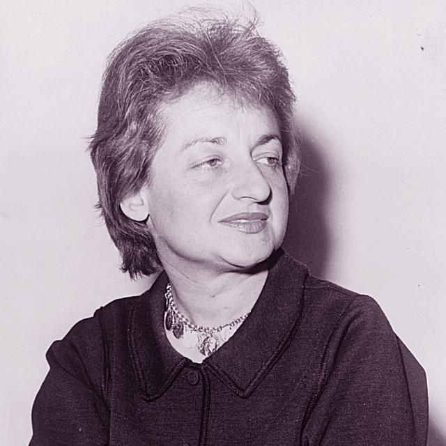 Betty Friedan, co-founder of the National Organization for Women (NOW).