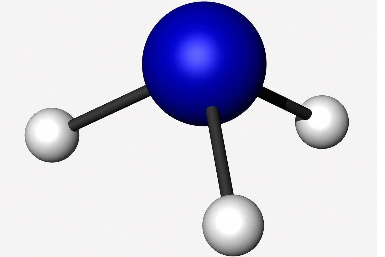 Model of ammonia