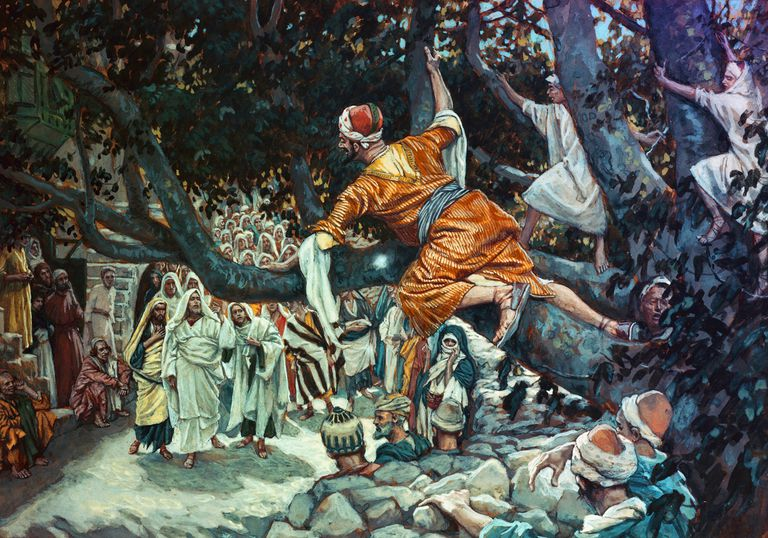 Zacchaeus in the Bible