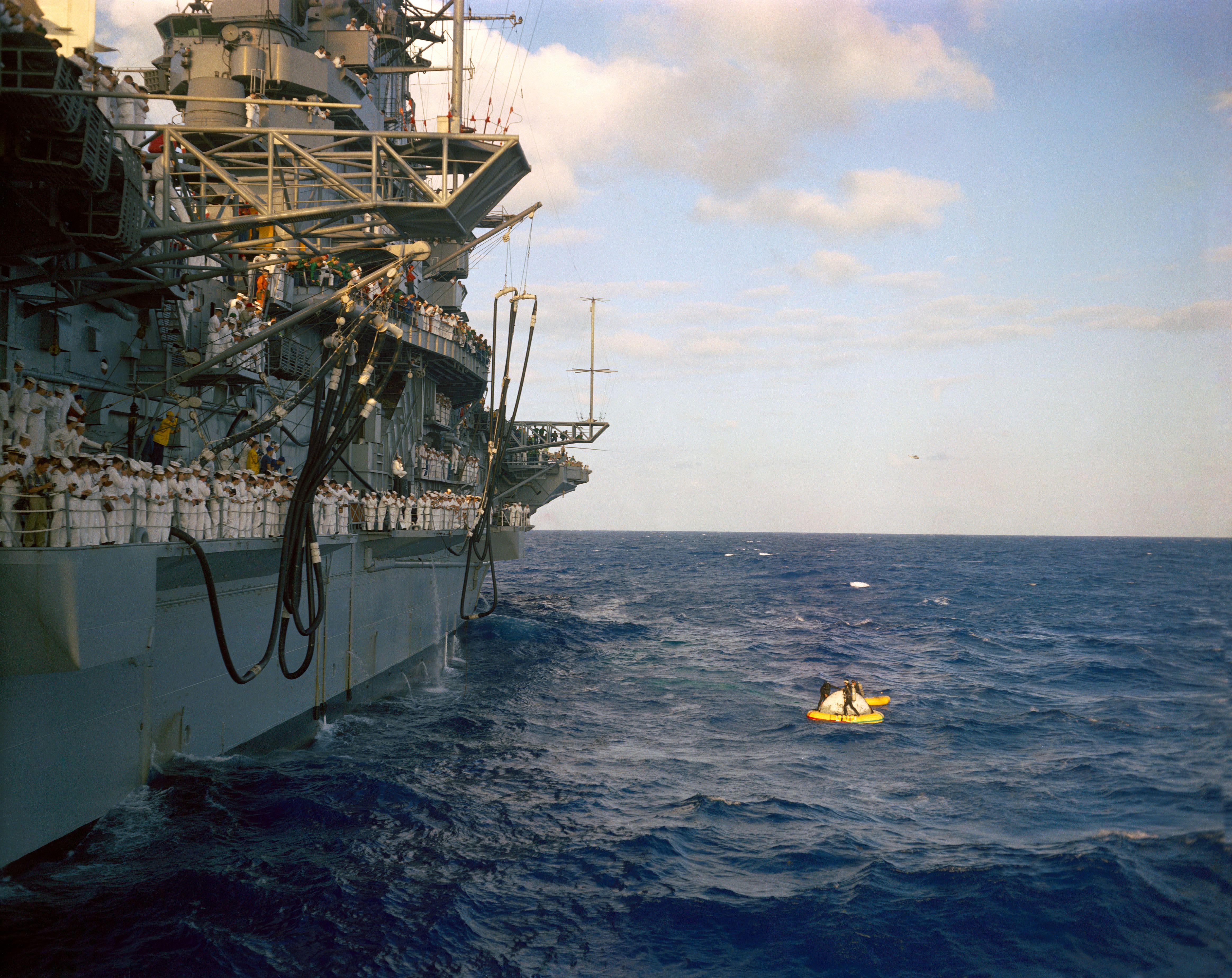 USS Intrepid and Gemini 3