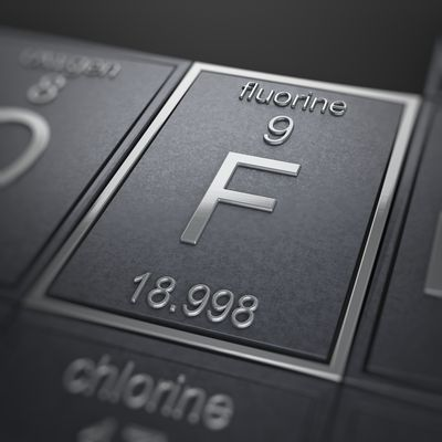 Fluorine Facts Atomic Number 9 Or F
