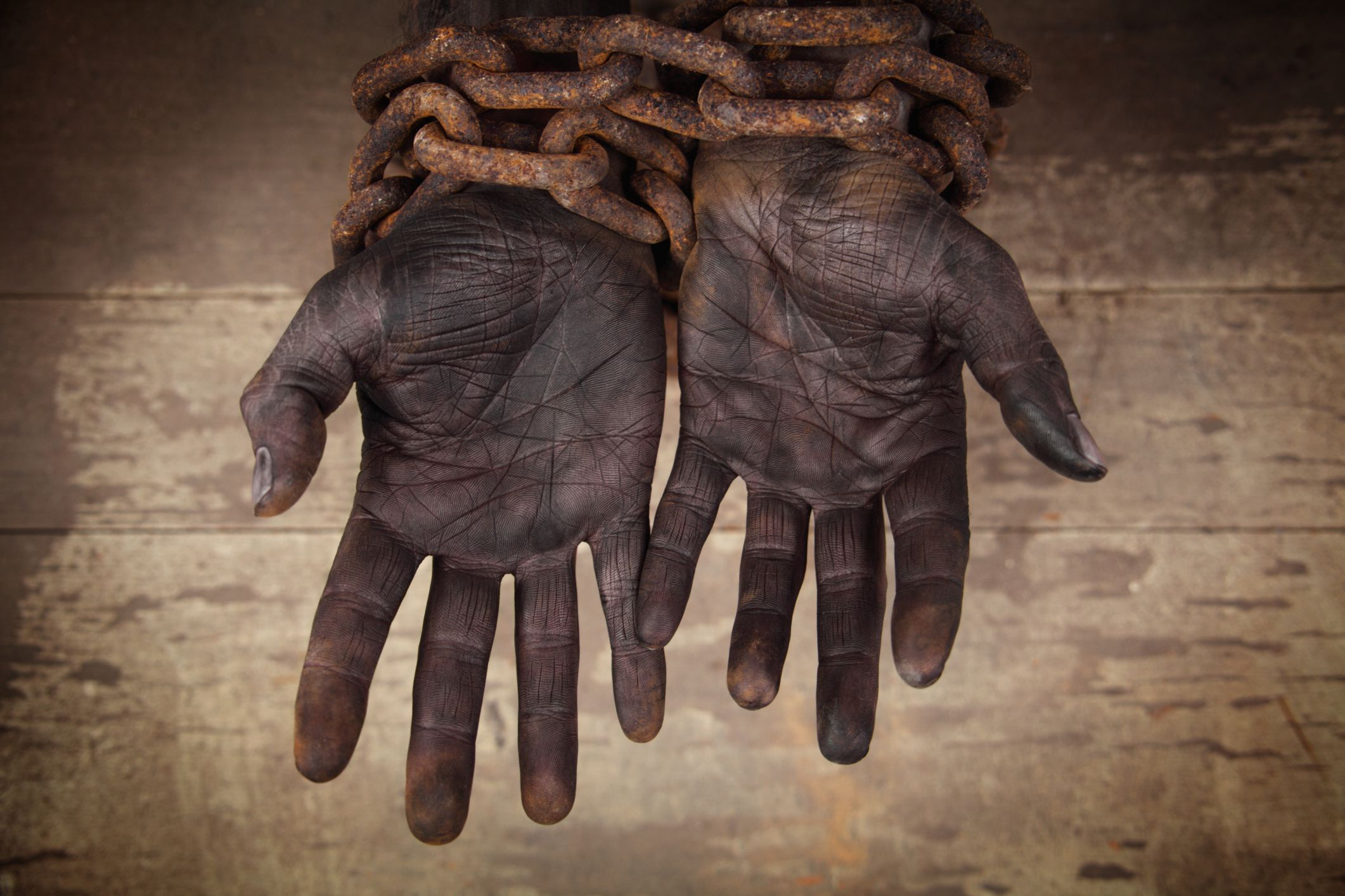 Sold Into Bondage Slavery