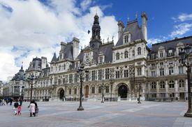 City hall Paris, France