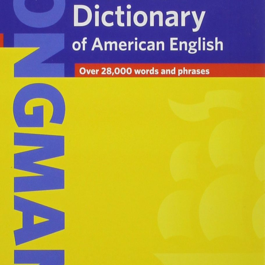 """""""Longman Handy Learner's Dictionary of American English"""" book cover."""