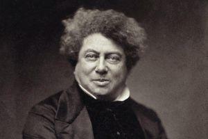 Portrait of Alexandre Dumas