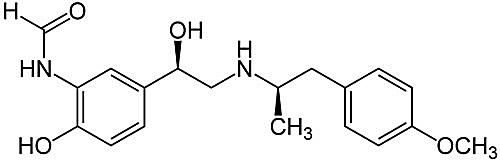 This is the chemical structure of formoterol.