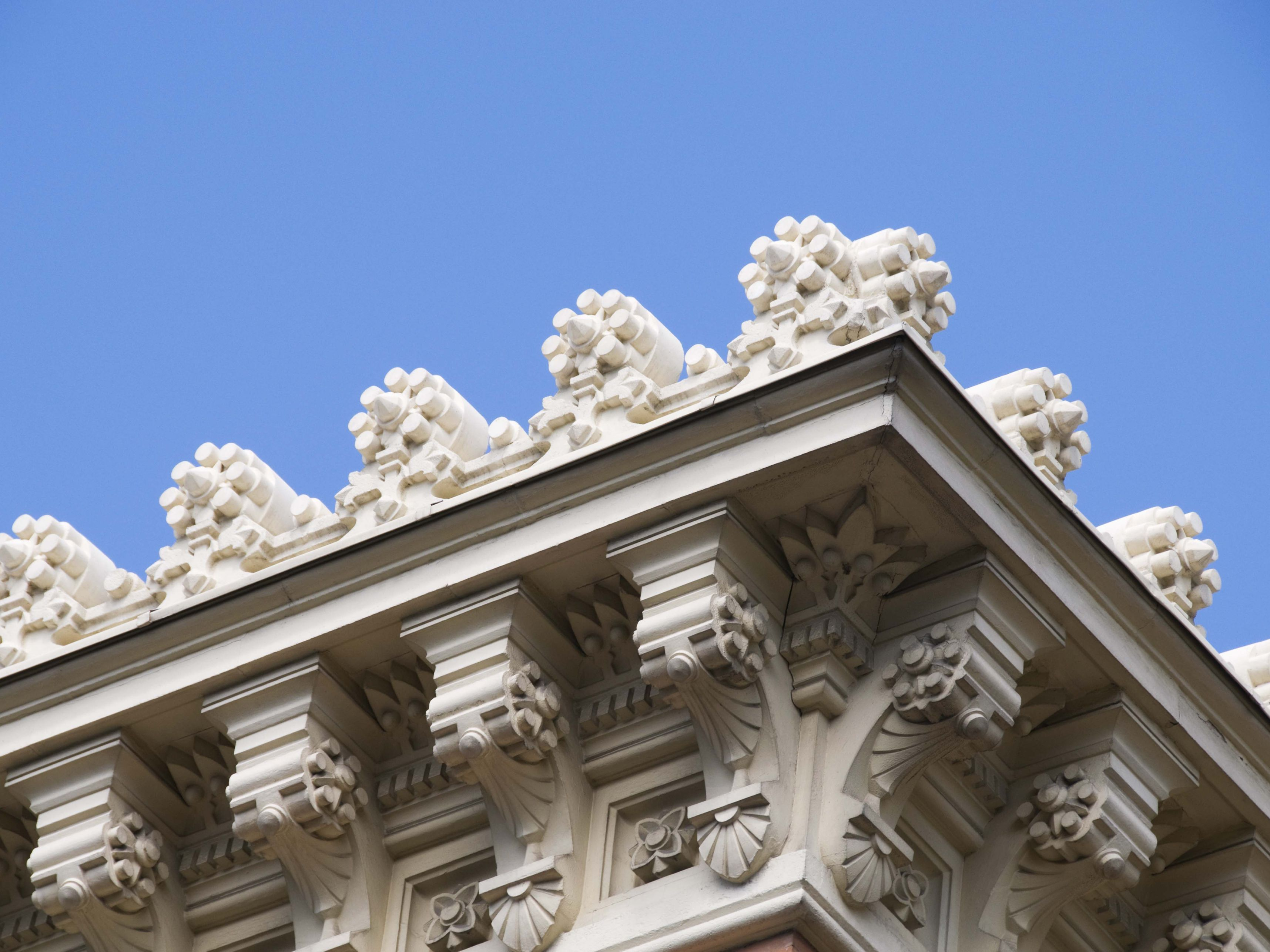 What is a cornice check the architecture glossary