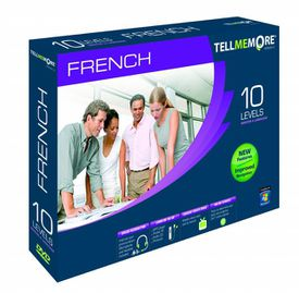 TellMeMore v 10 French language software