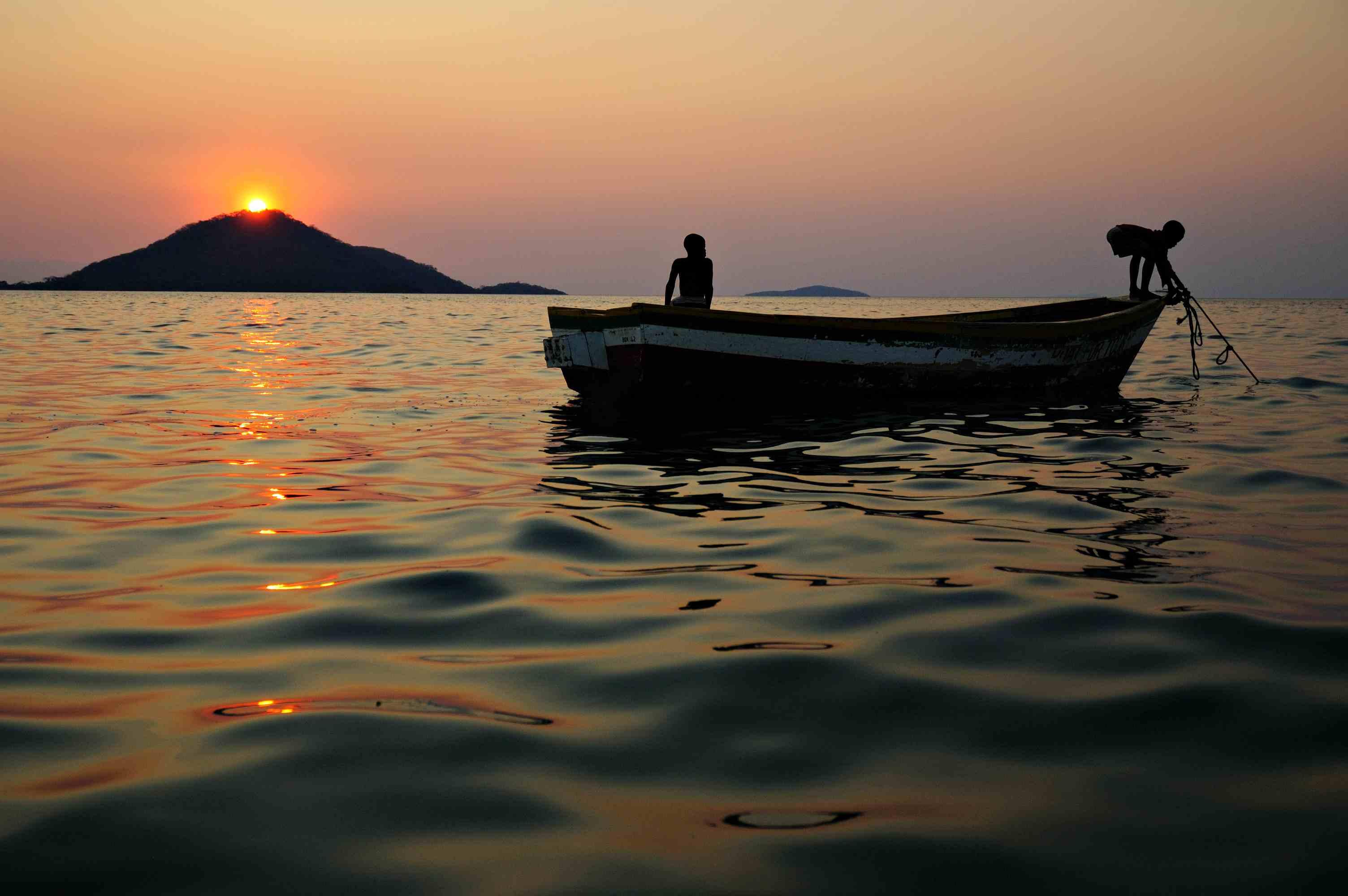 Cape Maclear of Lake Malawi