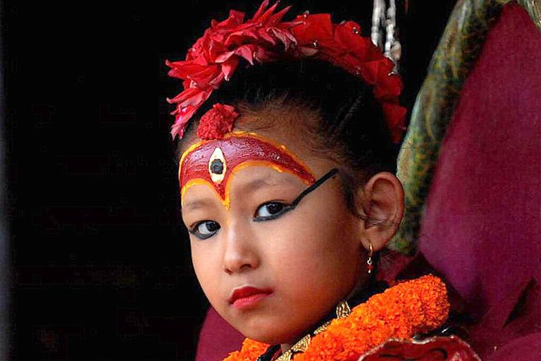 Kumari - Living Goddess of Nepal