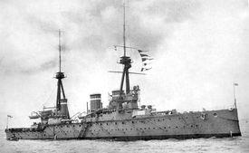 Battlecruiser HMS Invincible