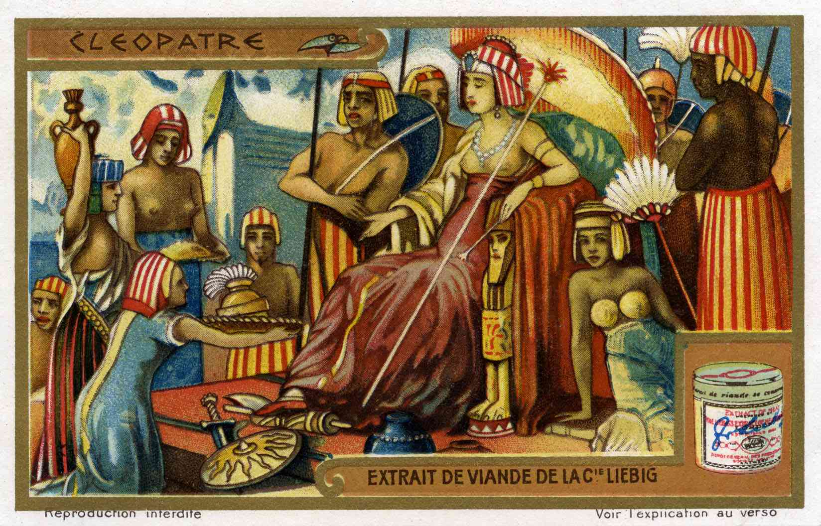 Cleopatra VII (Late 69 BC – August 12, 30 BC) , the last effective pharaoh of Ancient Egypt