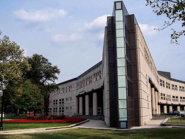 The Ohio State University's Drinko Hall in Columbus, Ohio.