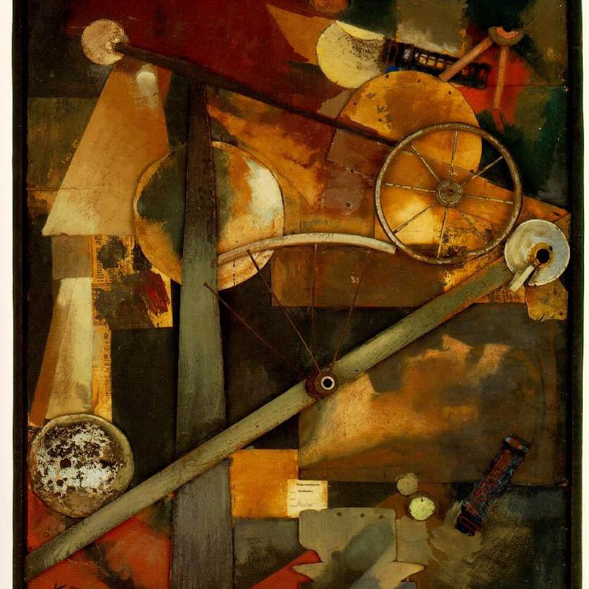 Biography of Kurt Schwitters, German Collage Artist