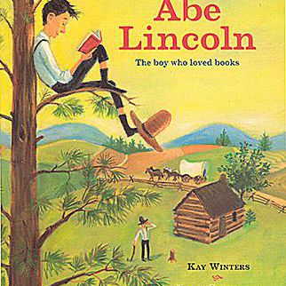 Cover art of Abe Lincoln: The Boy Who Loved Books a children's picture book