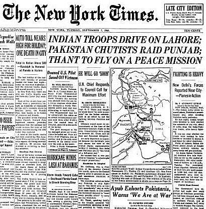 Pakistan, India and the Second Kashmir War