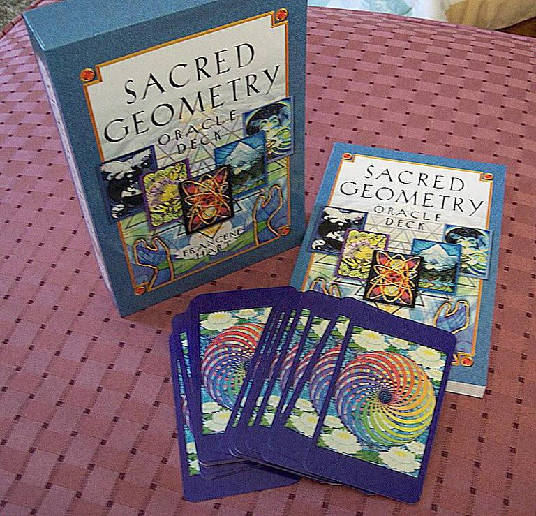Sacred Geometry Oracle Card and Book Set