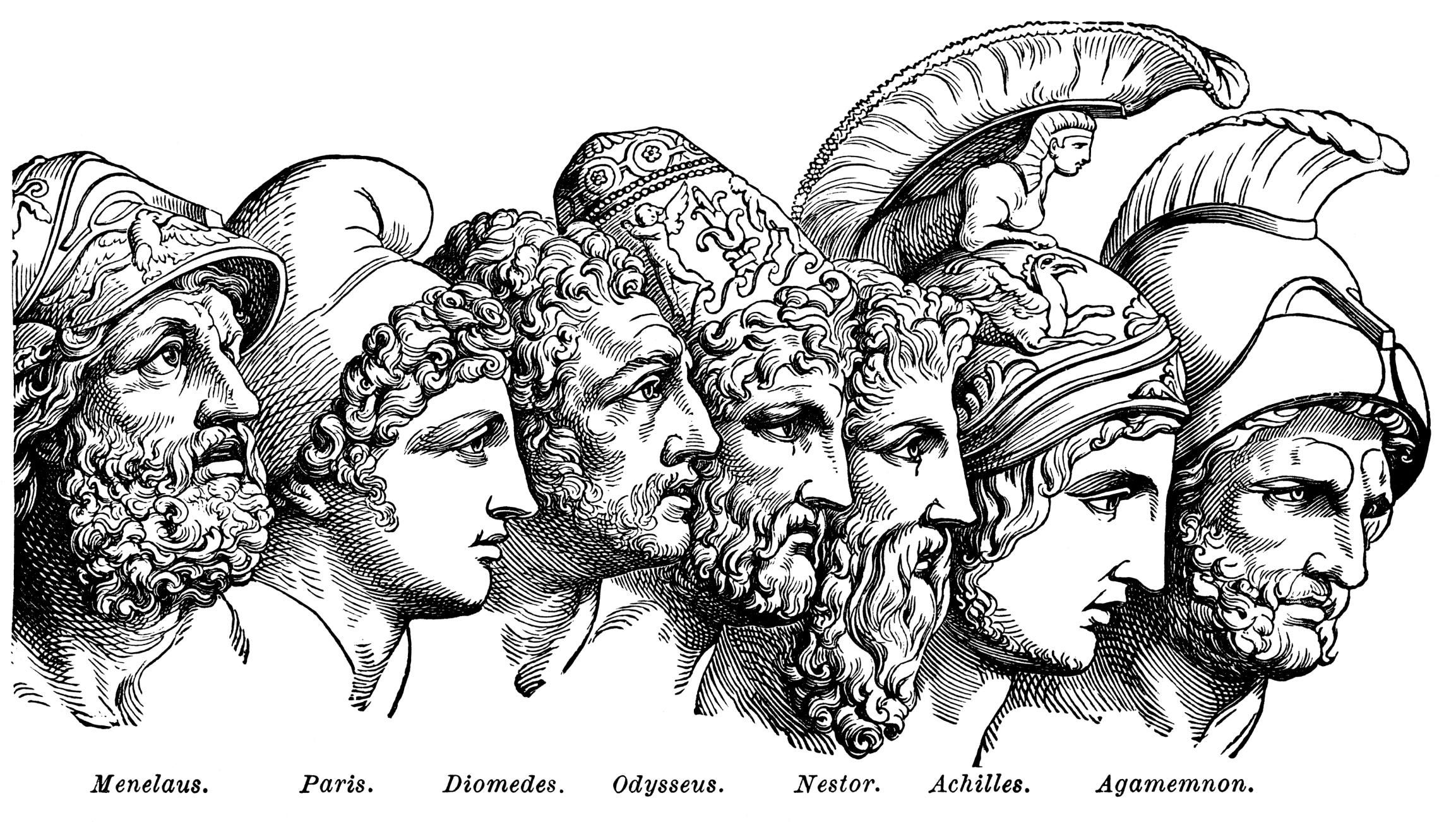 Heroes Of The Trojan War
