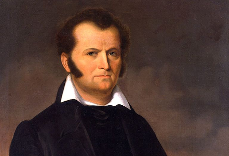 James Bowie painting by George Peter Alexander Healy