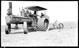 Geiser Steam Plow - Tractor